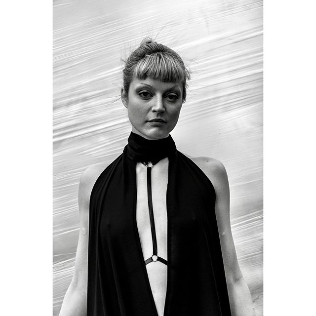 From the collection 'B...' By I Dream of Shapes., @zzztovezzz wears the split dress. This piece was created using only rectangles and produces no waste in production achieving sustainable design. Latex harnesses by @zzztovezzz Photography by Mark Hunt @s183_markhunt  #sustainabledesign #idreamofshapes #s183_markhunt #zzztovezzz #berlindesigner #independentdesigner #designer #fashion #black #white #instadaily #instagood #conceptstore #lbd #scottishdesigner #handmade #limited edition #littleblackdress #summergoth