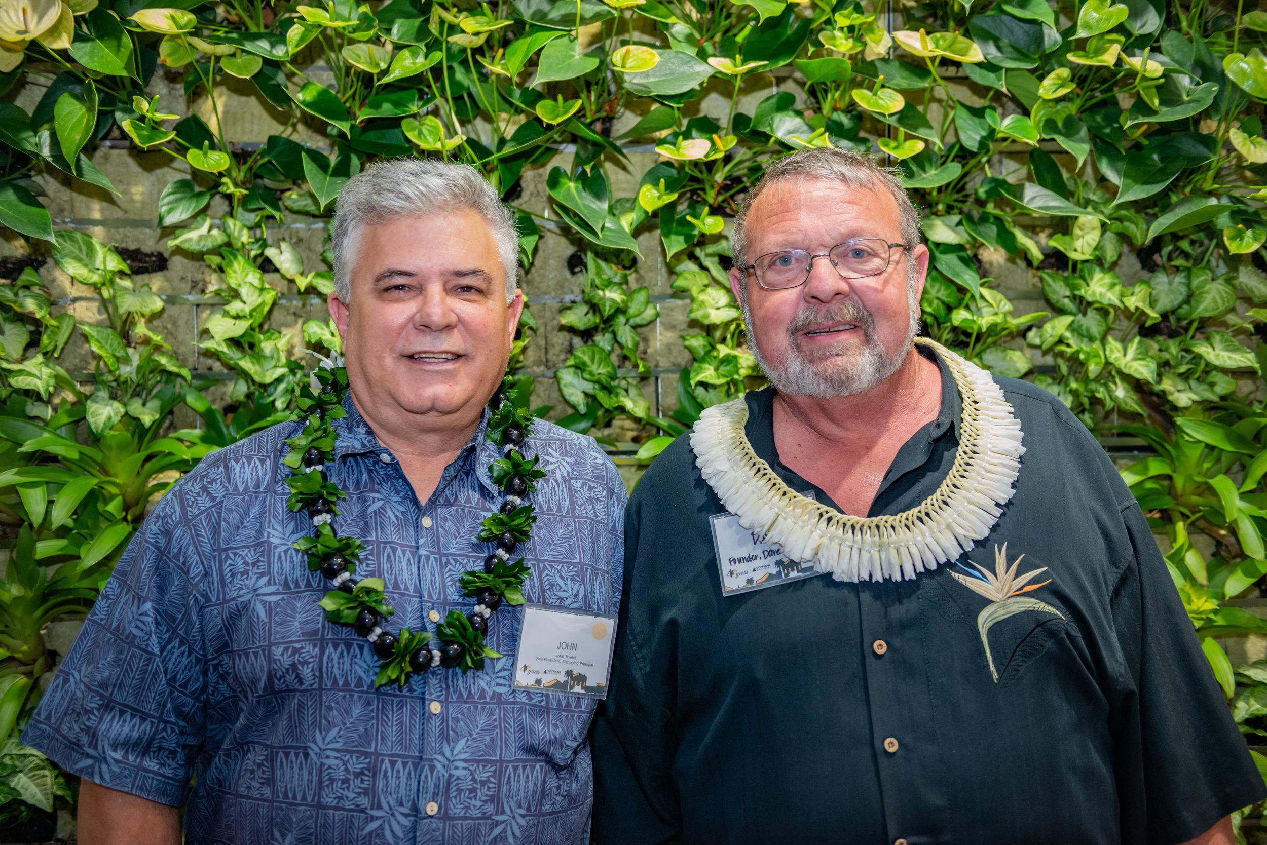 John Thielst, Honolulu Managing Principal + Dave Coffman, Founder