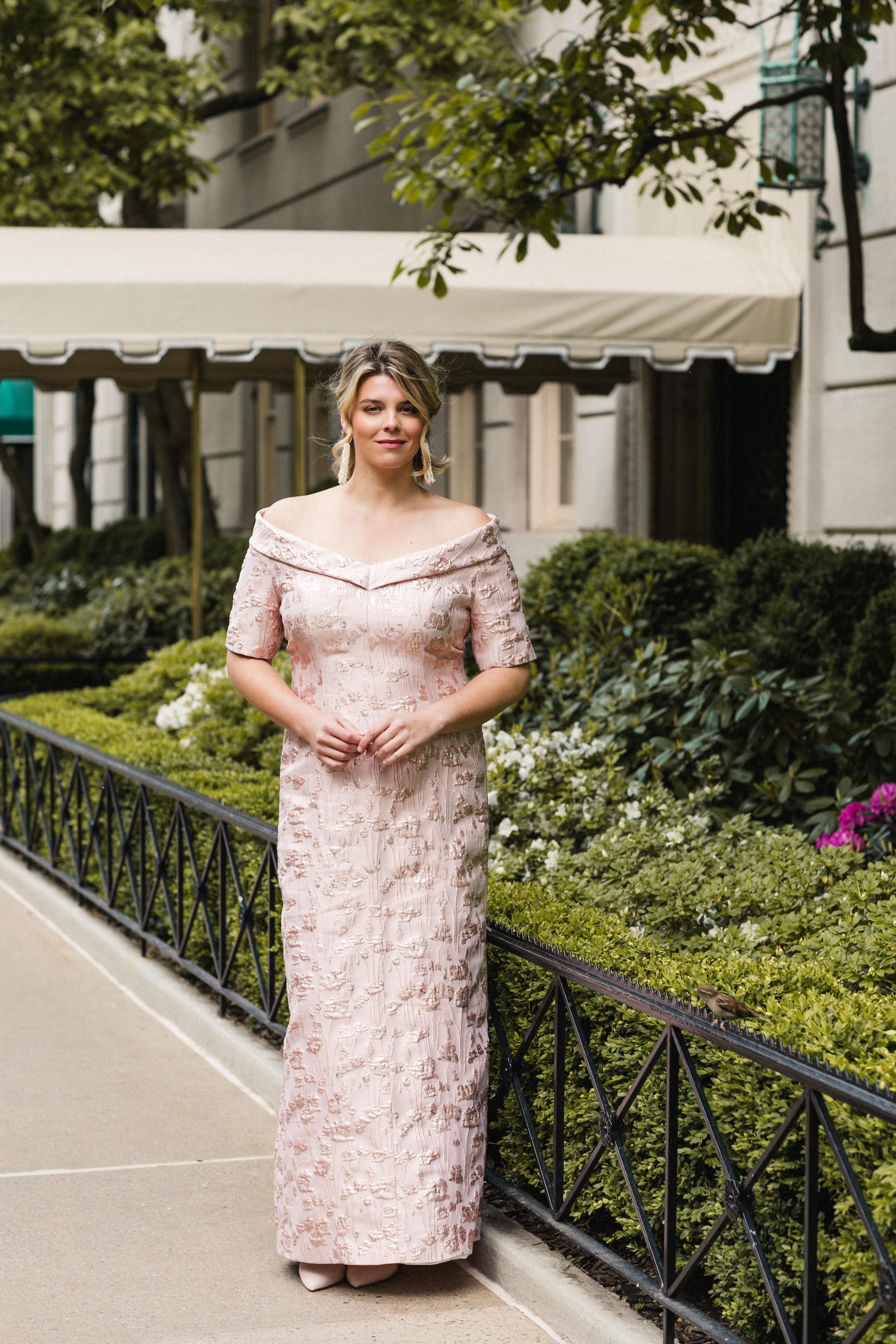 Formal Dress - Upper East Side, New York