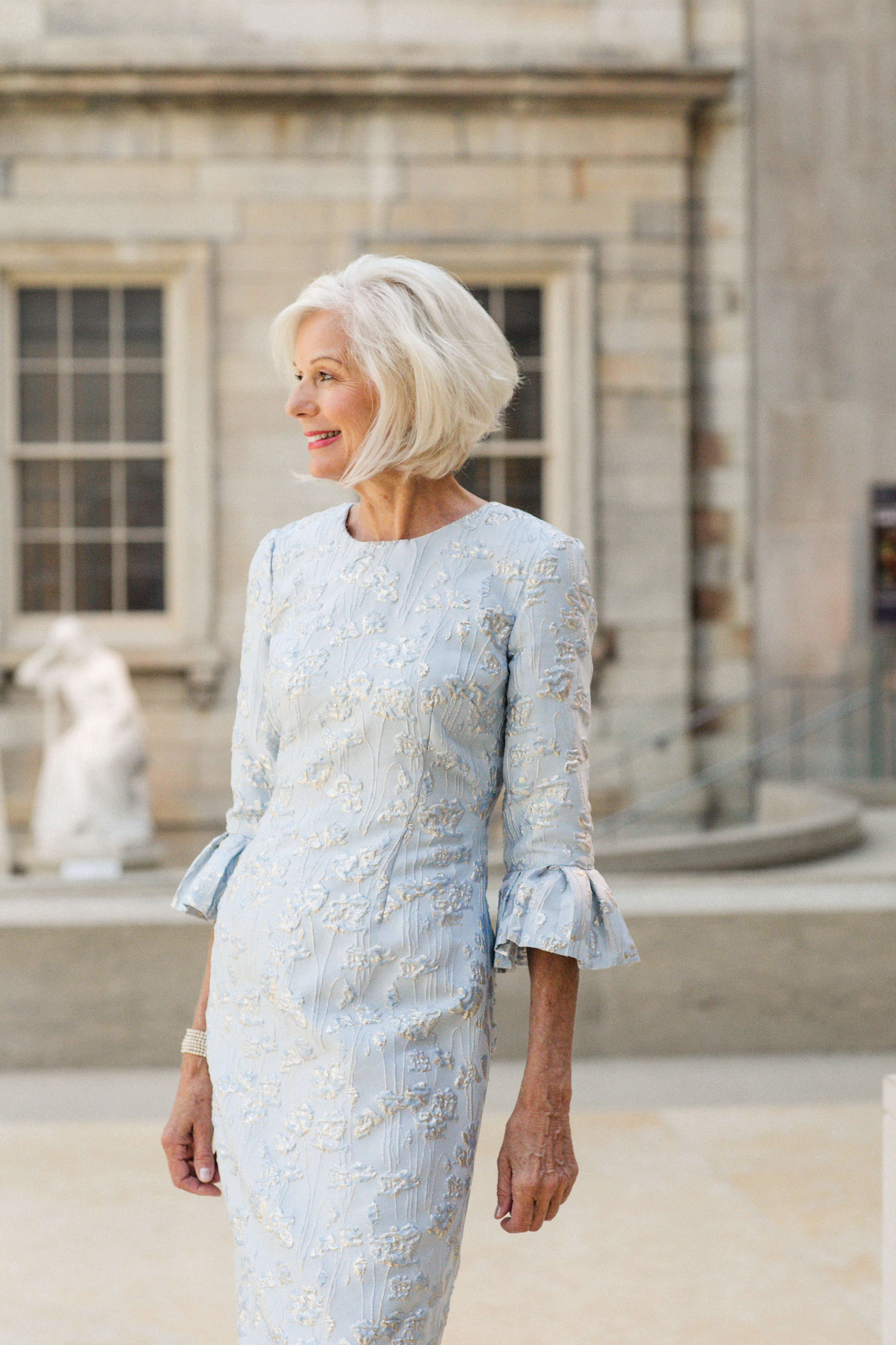 Formal Dress Metropolitan Museum Mother of the Bride 3