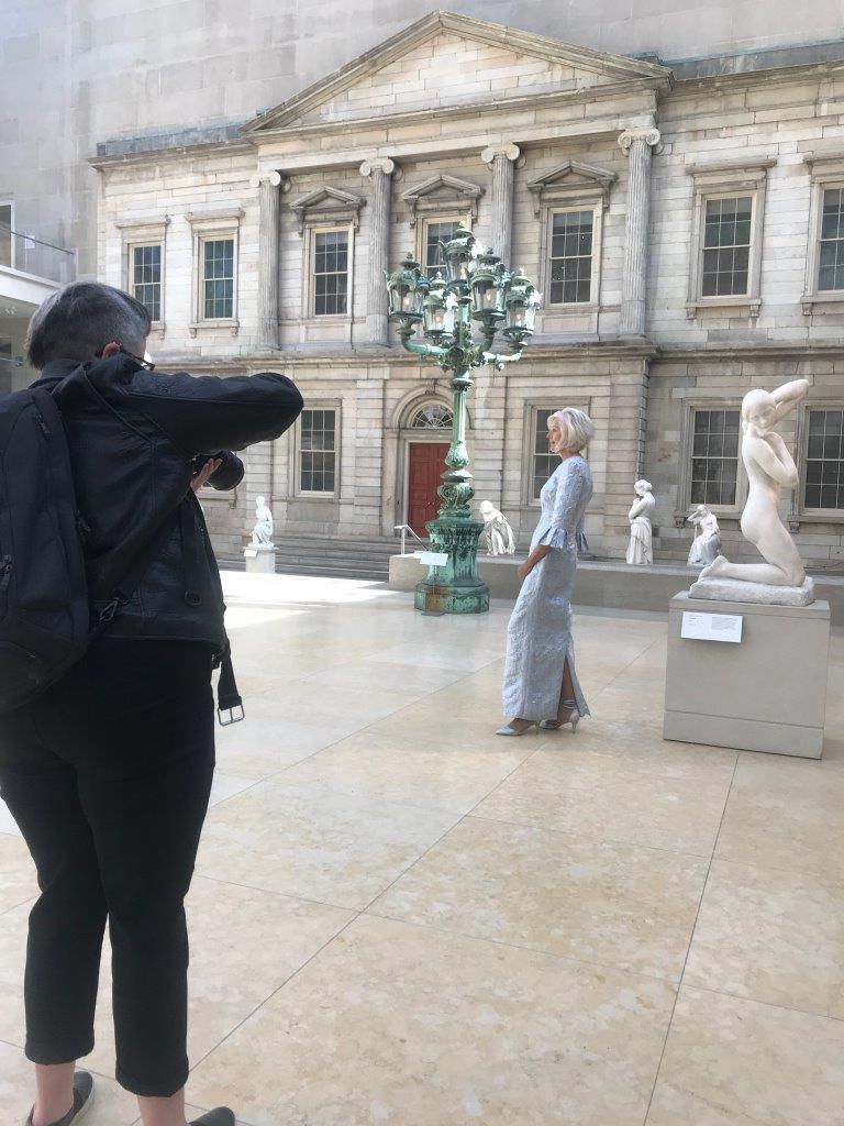 Photo Shoot at the Metropolitan Museum of Art in New York City