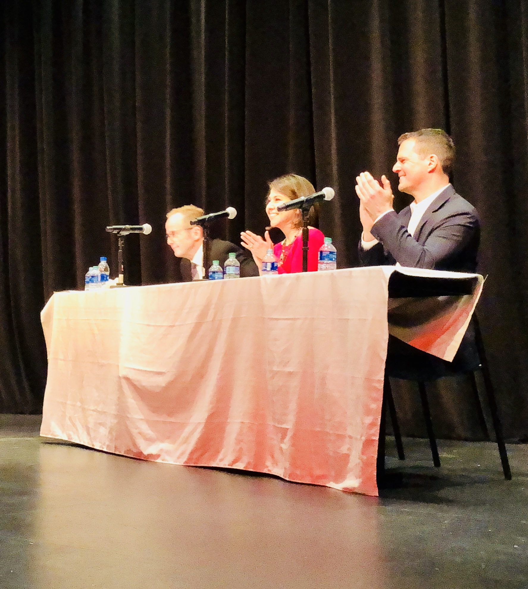 Elizabeth challenged the status quo at the Forum on January 16 at the Center on Halsted.