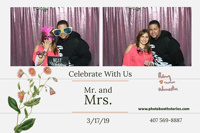 When we celebrate with you... 😍 photoboothstories.com