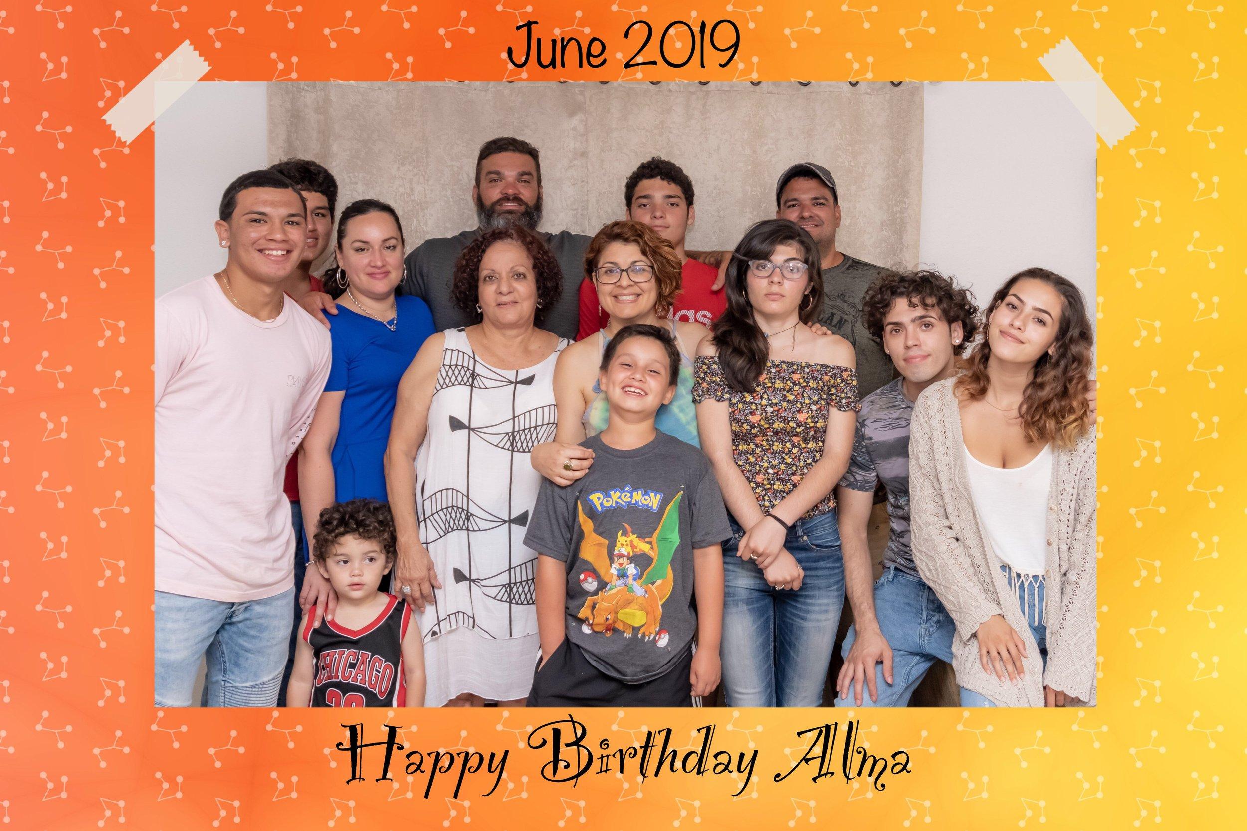 Happy Birthday Alma! - 72 never looked so good!