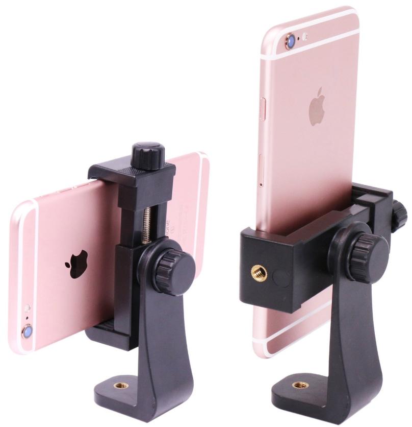 Tripod Mount Adapter/Vertical Bracket Smartphone Holder