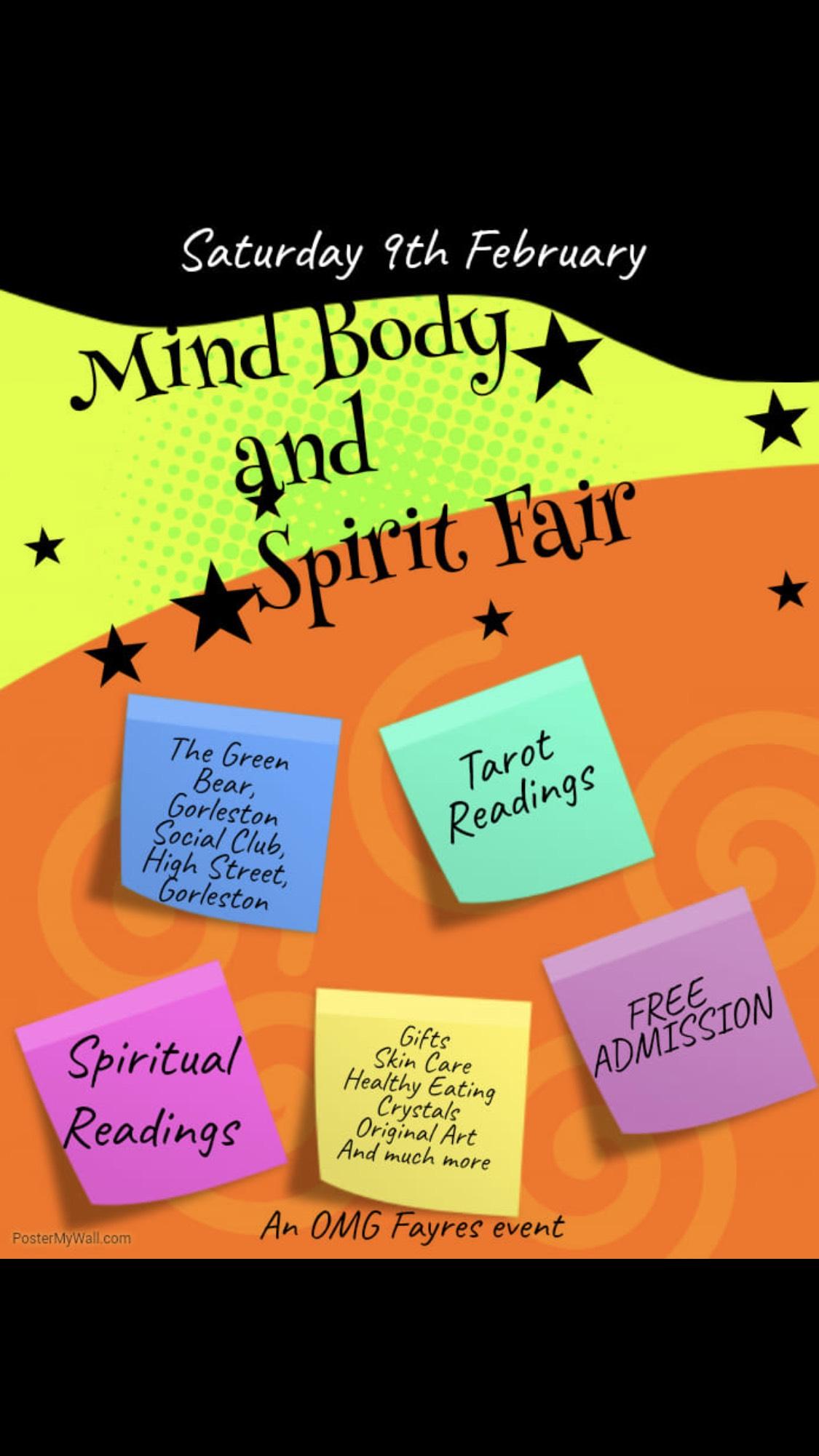 Mind, Body, and Spirit Fair