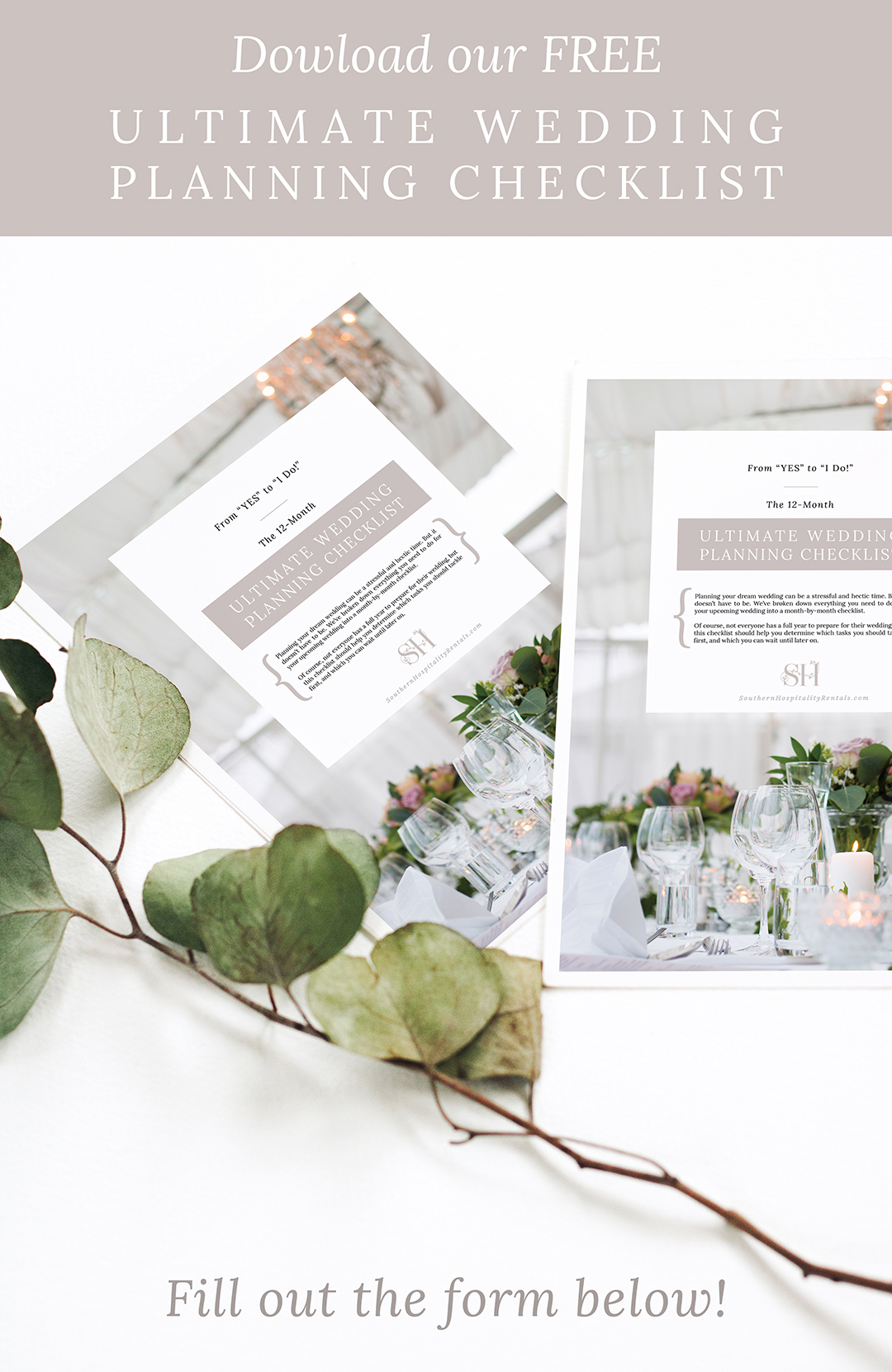 Ultimate Wedding Planning Checklist | Southern Hospitality