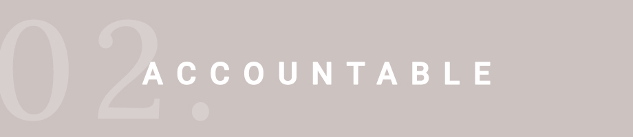 Southern Hospitality | Accountable, Core Value