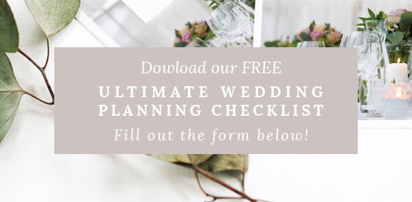 Download our perfect ultimate wedding planning checklist designed to equip you with your big day.