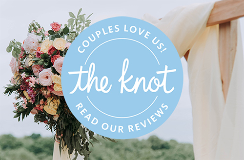Southern Hospitality has five star reviews with The Knot – couples love us!
