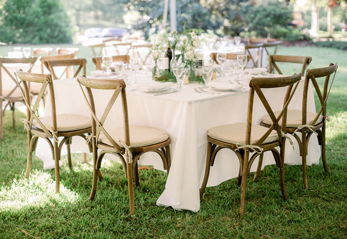 Beautiful tables, chairs, and linens are just a few of the high-quality products that we provide – receive your quote request today!