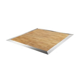 Dance the night away on our birch dance floor – durable and affordable!