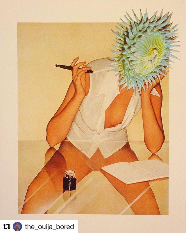 #Art @the_ouija_bored ・・・ Pirelli Calendar . . . #artinspiresyou #aiystudio #scifiart #surrealart #surreal42 #analocollage #analogcollagecommune #brooklyncollagecollective #cutandpaste #collagecollectiveco #collage