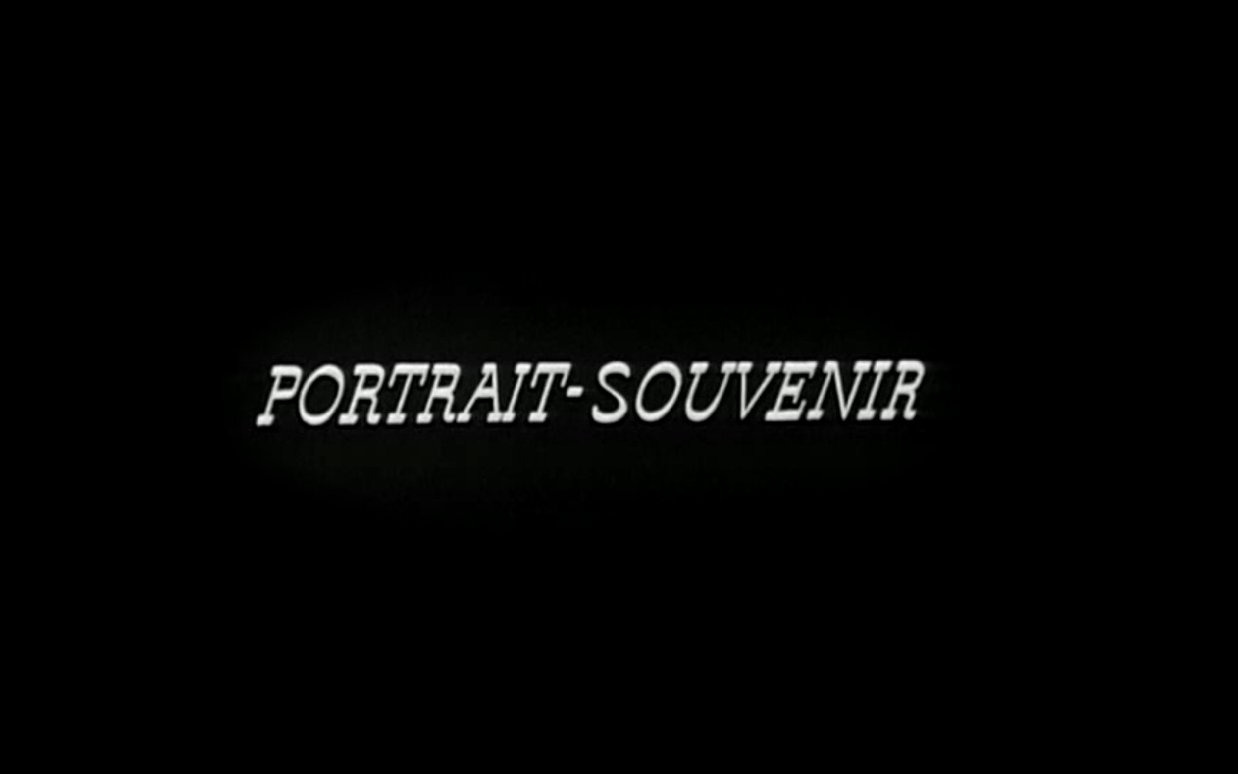 Portrait — Court métrage — Projet en cours