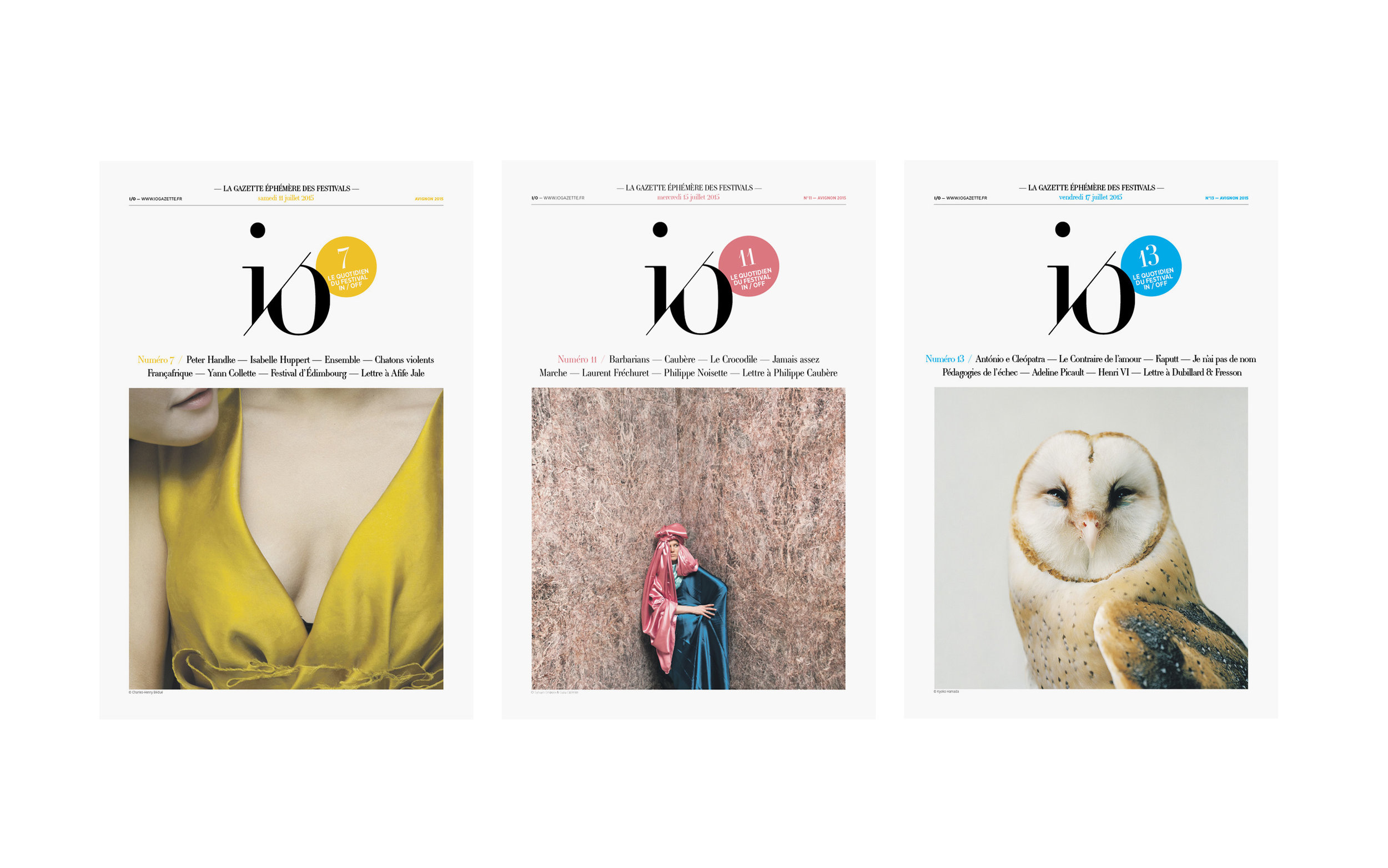 I/O — Direction artistique
