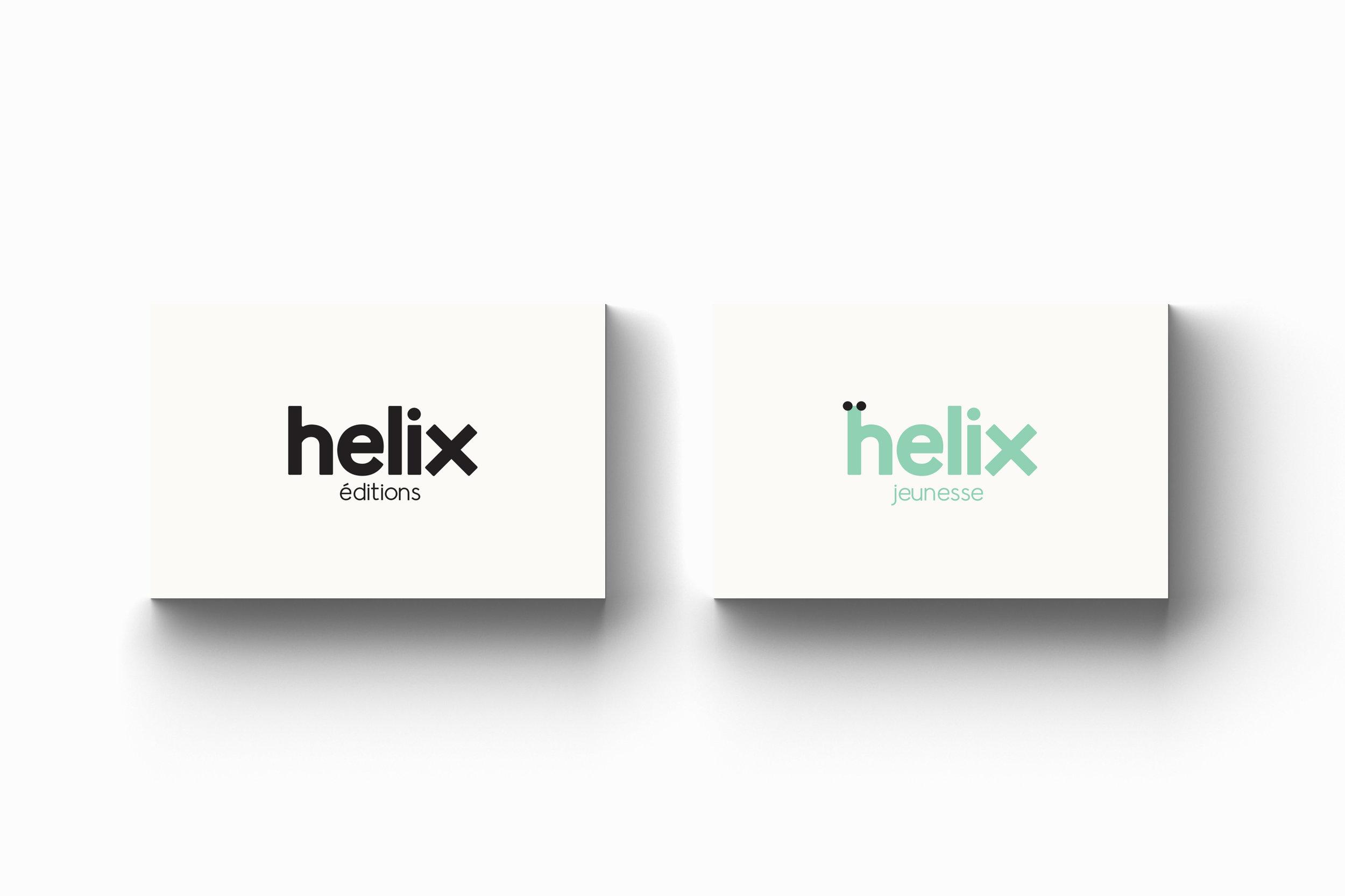 helix éditions — Logo