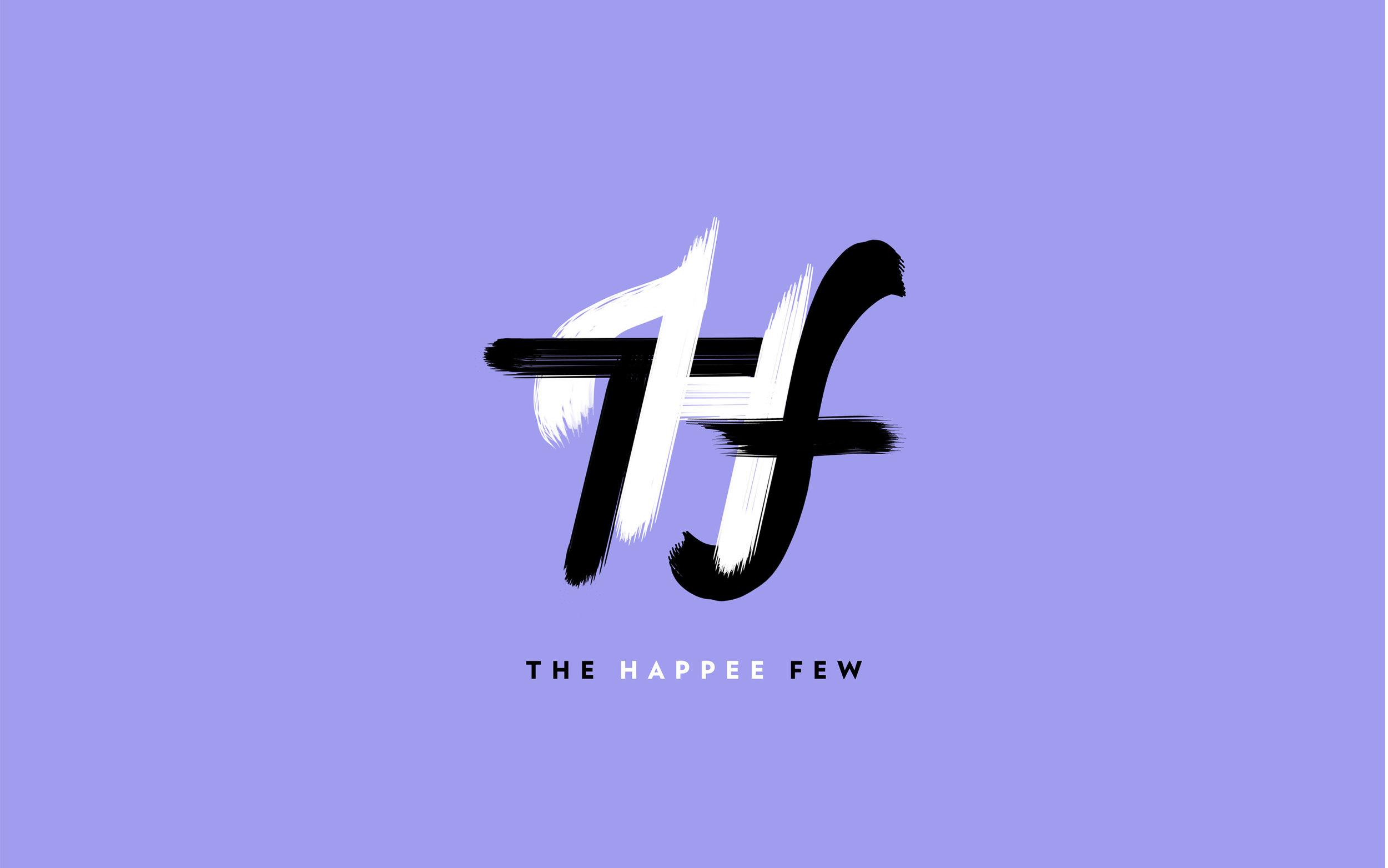 The Happee Few — Logo, Identité visuelle