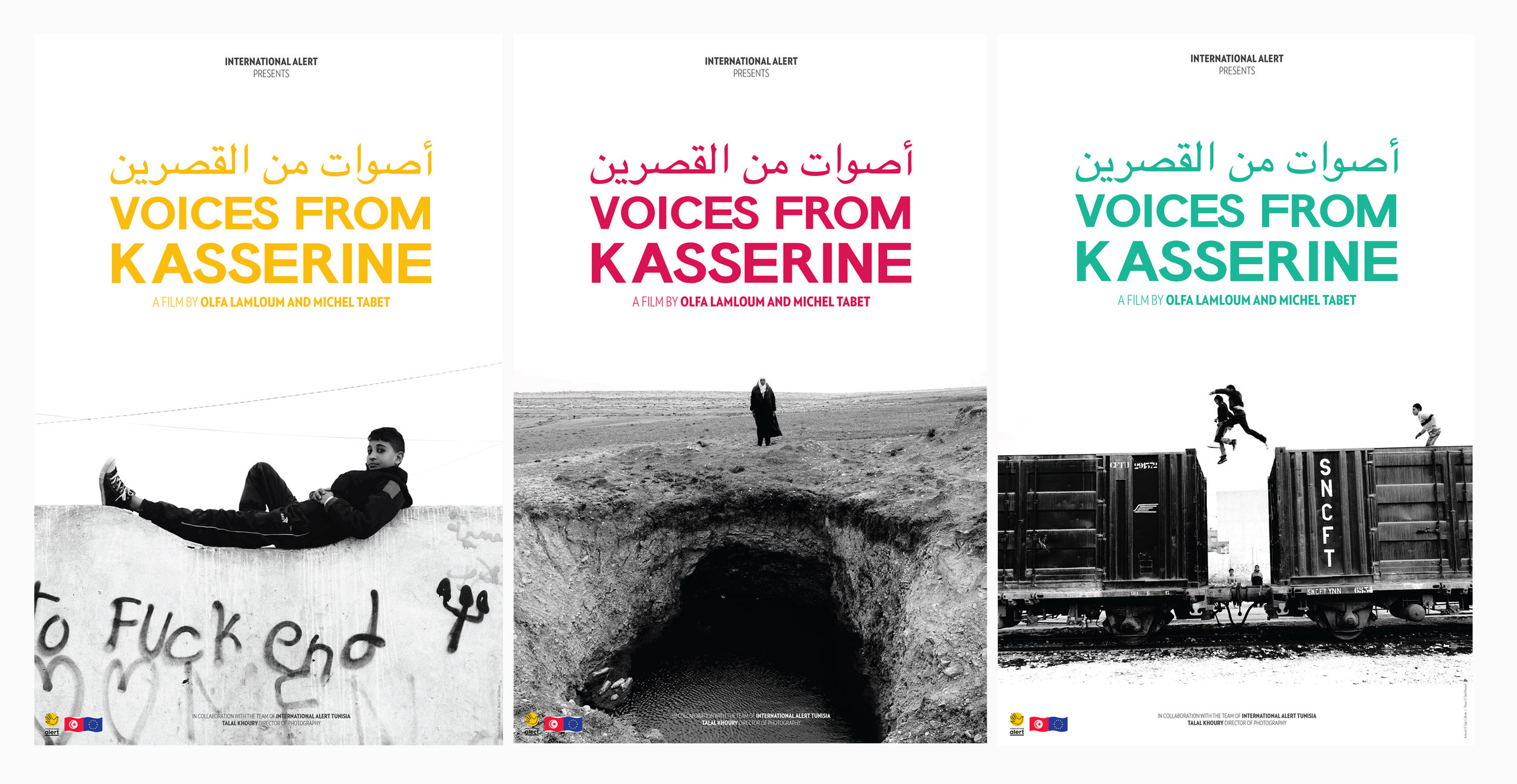 Voices from Kasserine — Campagne d'affichage