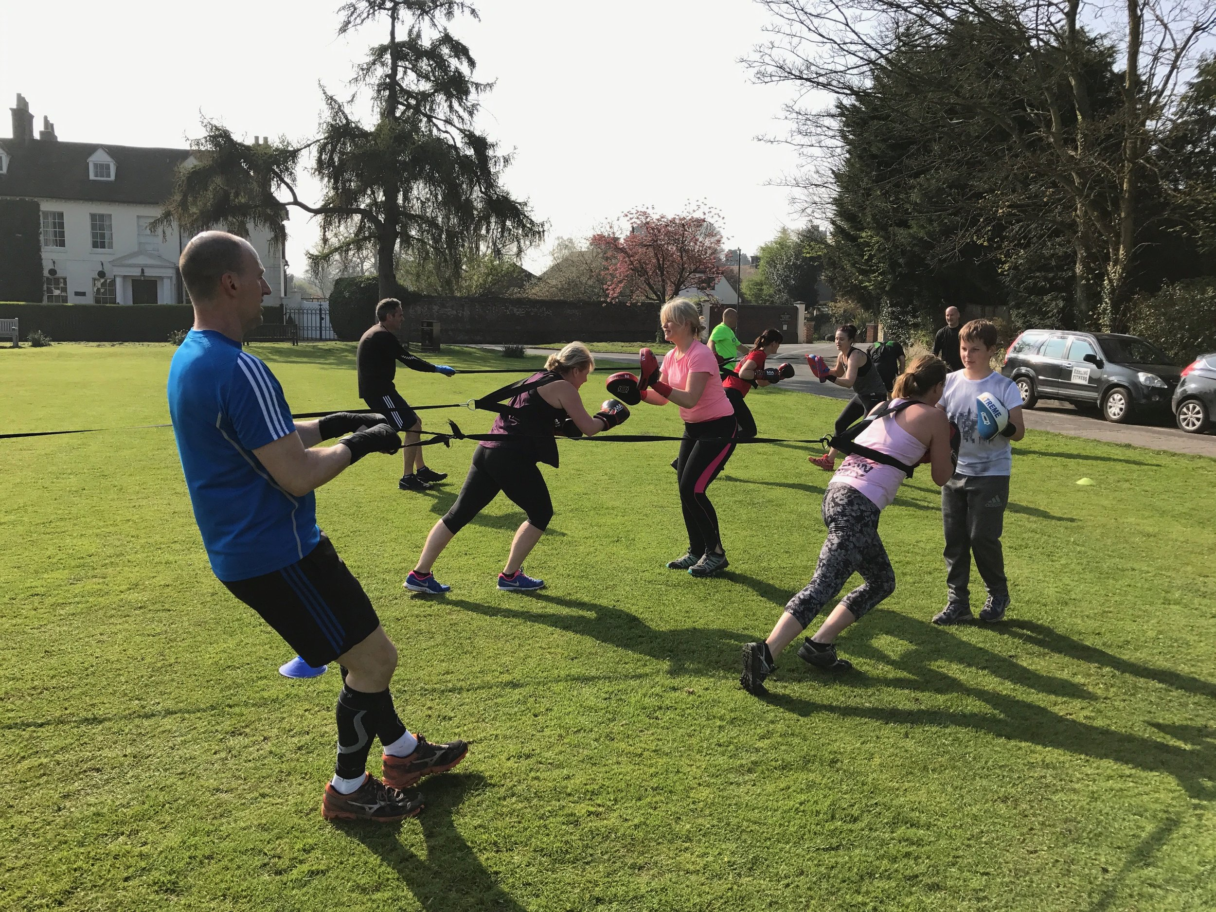 Get fit, have fun - With Keeling Fitness you're guaranteed to work hard, whether that's as part of a group or in a 1:1 PT session with Craig.Group sessions are held on Bearsted Green (weather dependent) all year-round, and are drop in and pay-as-you go. Work hard and be motivated by others to reach your goals.If you're looking for a more tailored workout, 1:1 PT sessions are held in Craig's fully-equipped custom studio (affectionately known as 'The Shed' at his home in Bearsted.