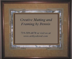 Creative Matting, Framing & Design
