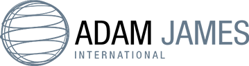 Adam James International Logo