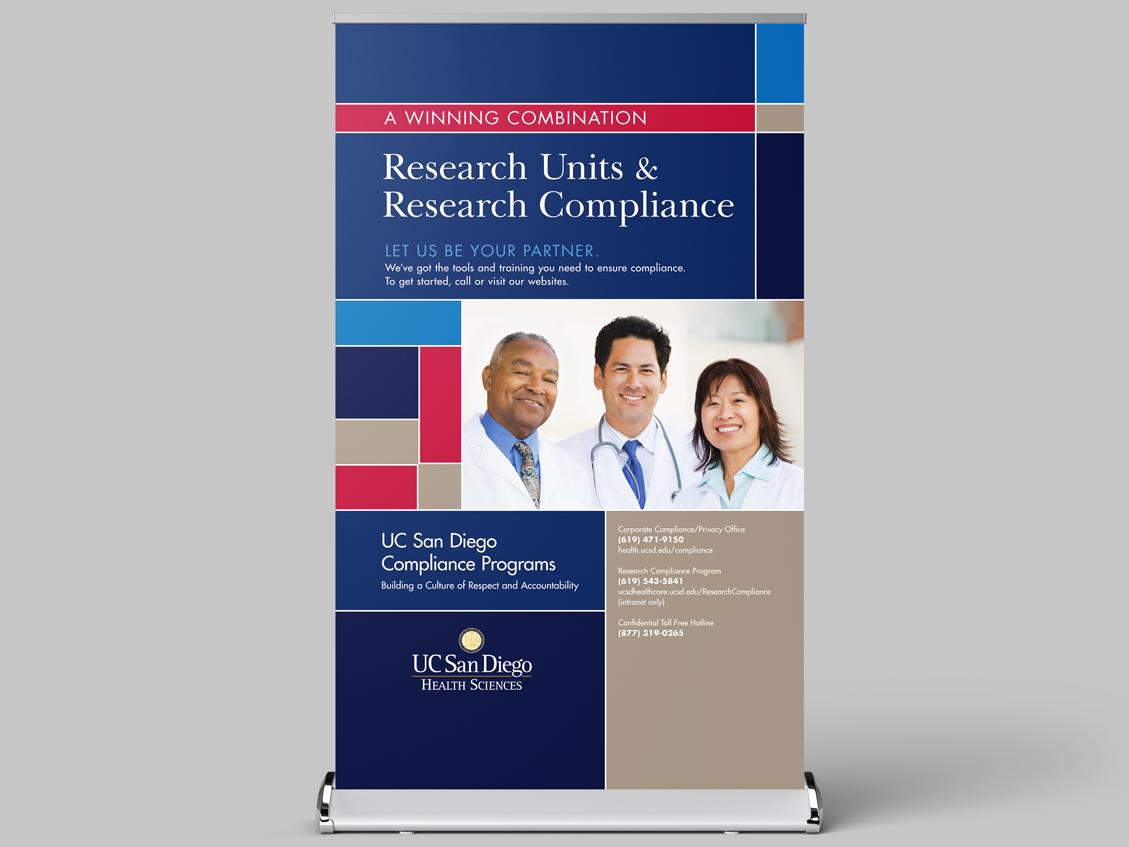 UCSD Health Sciences Compliance Programs — Ella Shafir Design