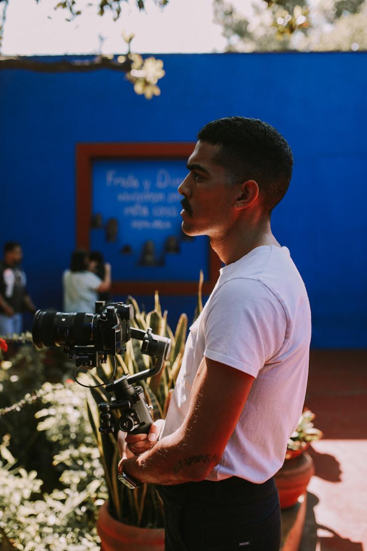 Joshua Fortuna , cinematographer & co-owner of Fort Lion Studio.