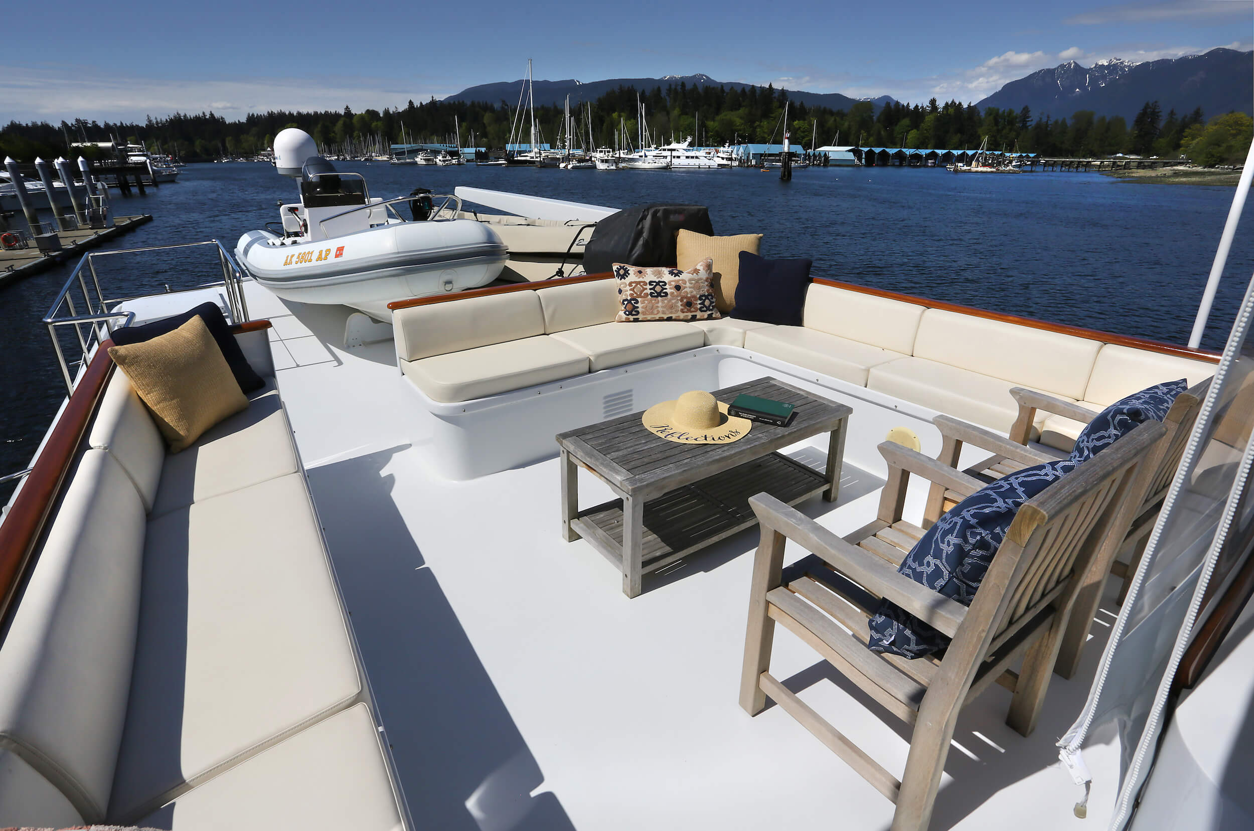 Top Deck - Outside Seating Area