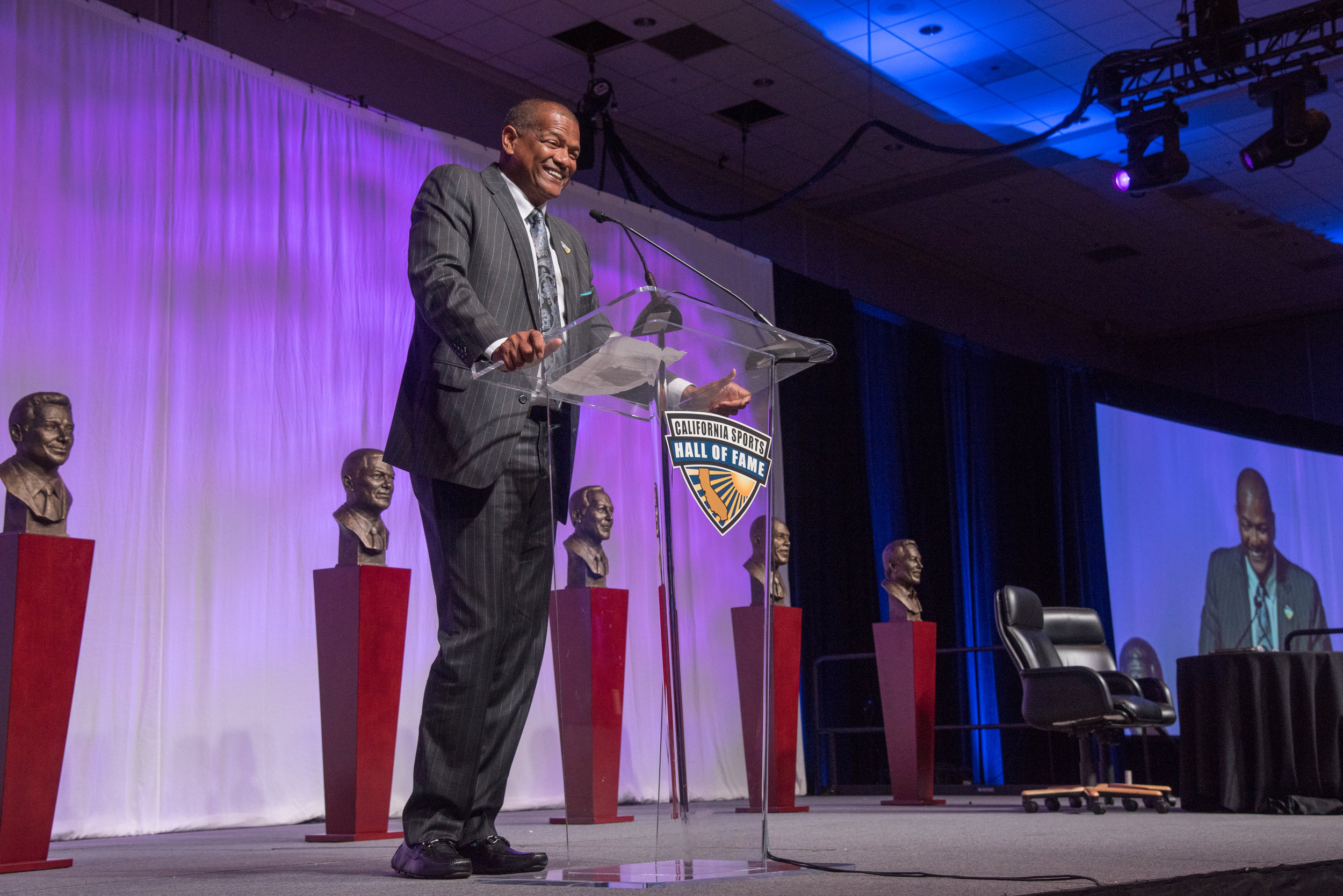 On Sunday, June 23, 2019, Marques was inducted into the 2019 California Sports Hall of Fame alongside Barry Bonds, Jerry Bus, Jim Gray and Todd Christensen.  Link to photo gallery