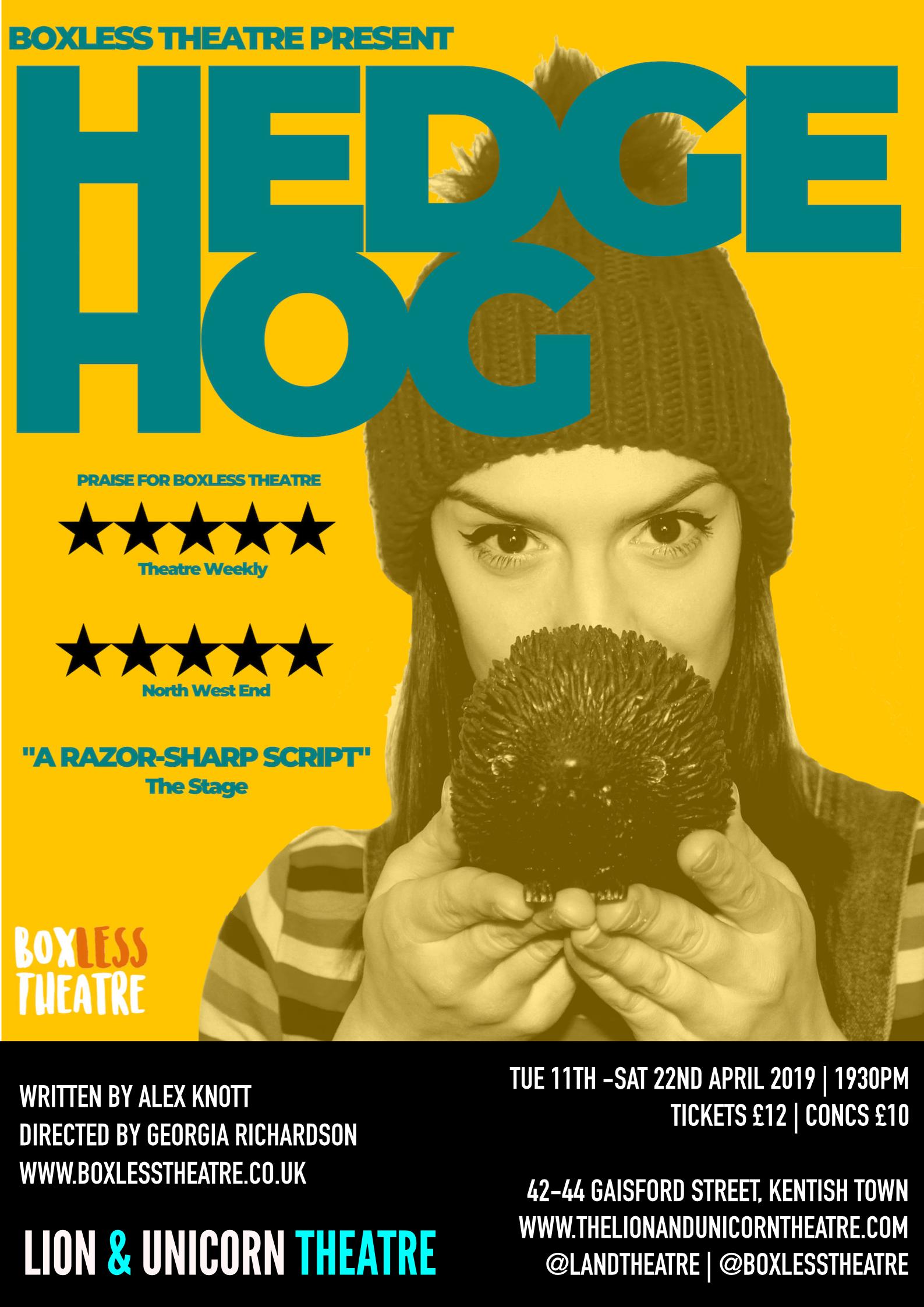 Hedgehog (Boxless) Poster.png