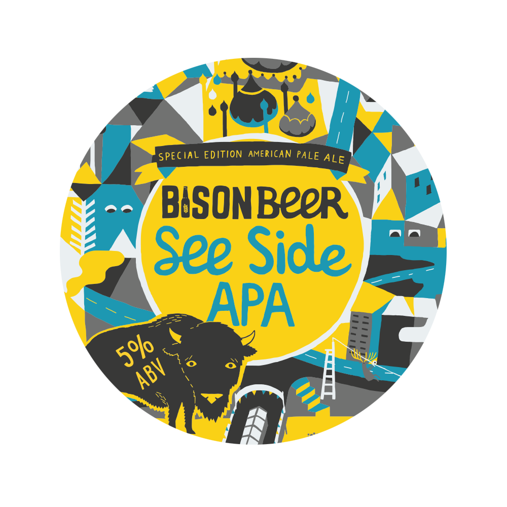 SEE SIDE APA - Juicy American Pale Ale // 5%- CORE -