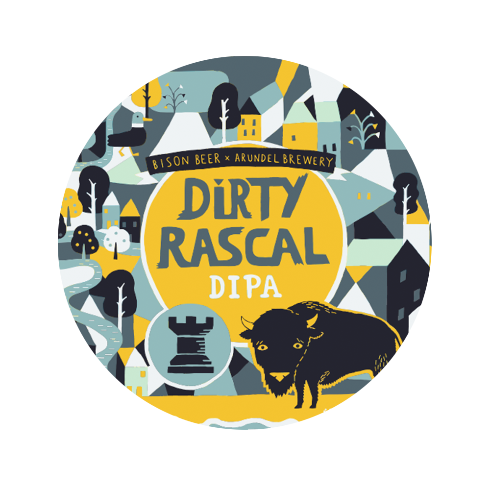 DIRTY RASCAL DIPA - Foraged Fruit Citrus DIPA // 7.5%- LIMITED RELEASE -