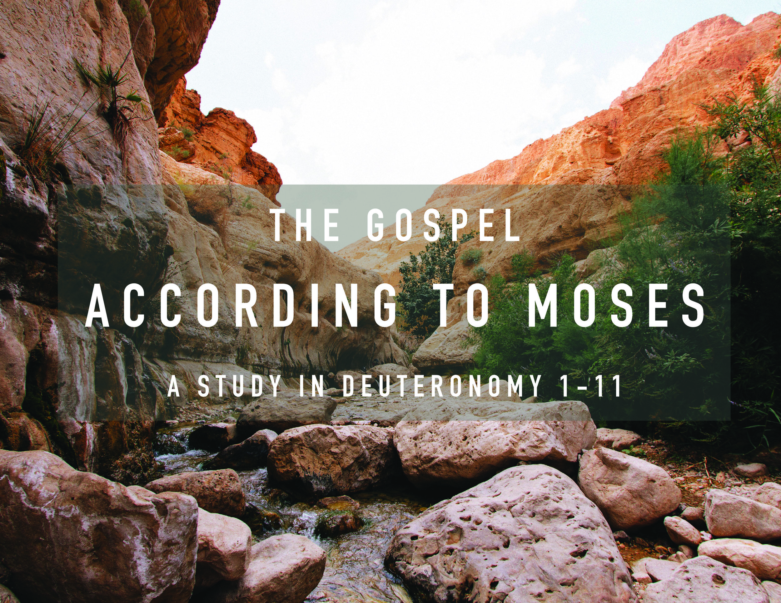 current sermon series - Join us on Sunday mornings and click the button below to participate in our study in Deuteronomy 1-11.