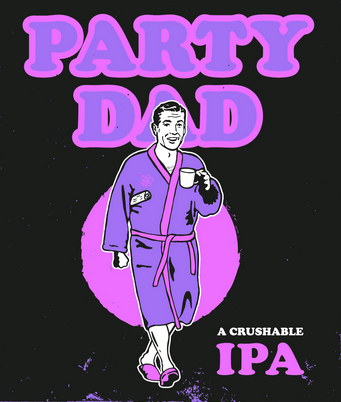 Hazy Session IPA - Get the party started with Party Dad, AKA the crushable Session IPA of your dreams! Coming in at a low ABV of 3.5%, you'll be floored by the range of flavour this juicy beer offers.Taste: Brewed with London Fog Ale Yeast, this brew is juicy and velvety rich.Look: Straw yellow, with a light beige head.Aroma: Notes of papaya, honeydew melon, and lime zest.Food Pairing: Pairs well with lake-caught speckled trout, cooked over a bonfire.Party Dad is EXCLUSIVELY available for purchase at our Bottle Shop and through our Online Store. Grab a few cans before they're gone!4x473mL Can | ABV: 3.5% | IBU: 38