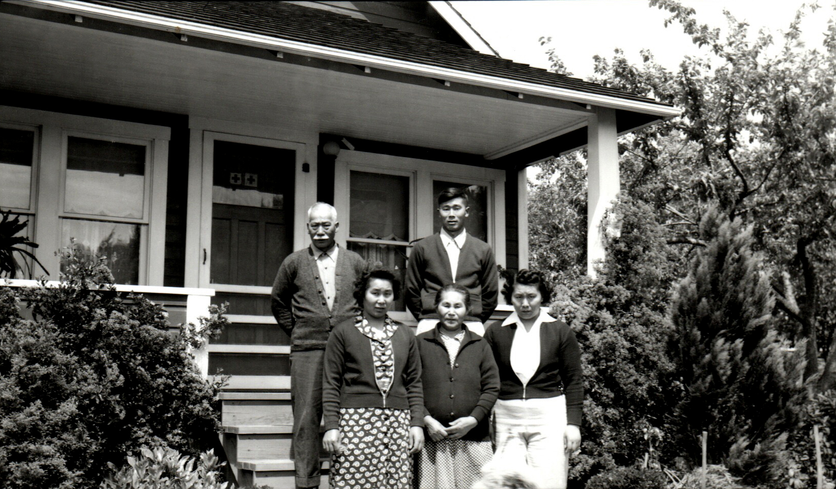 Iseri family, June 3, 1942