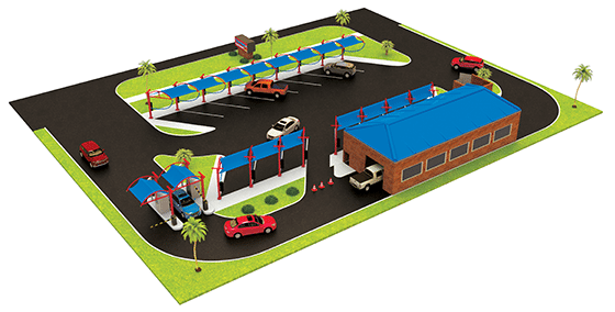 Exterior Express Car Wash - Specialized Retail Infill Development & Project Management
