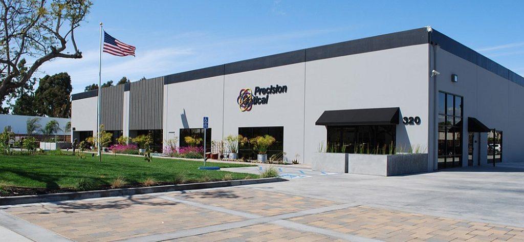 Precision optical - Industrial Facility Relocation & BuildoutProject Management