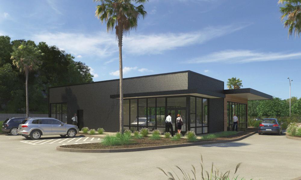 Cannabis Retail Storefront - Ground-up New Development.