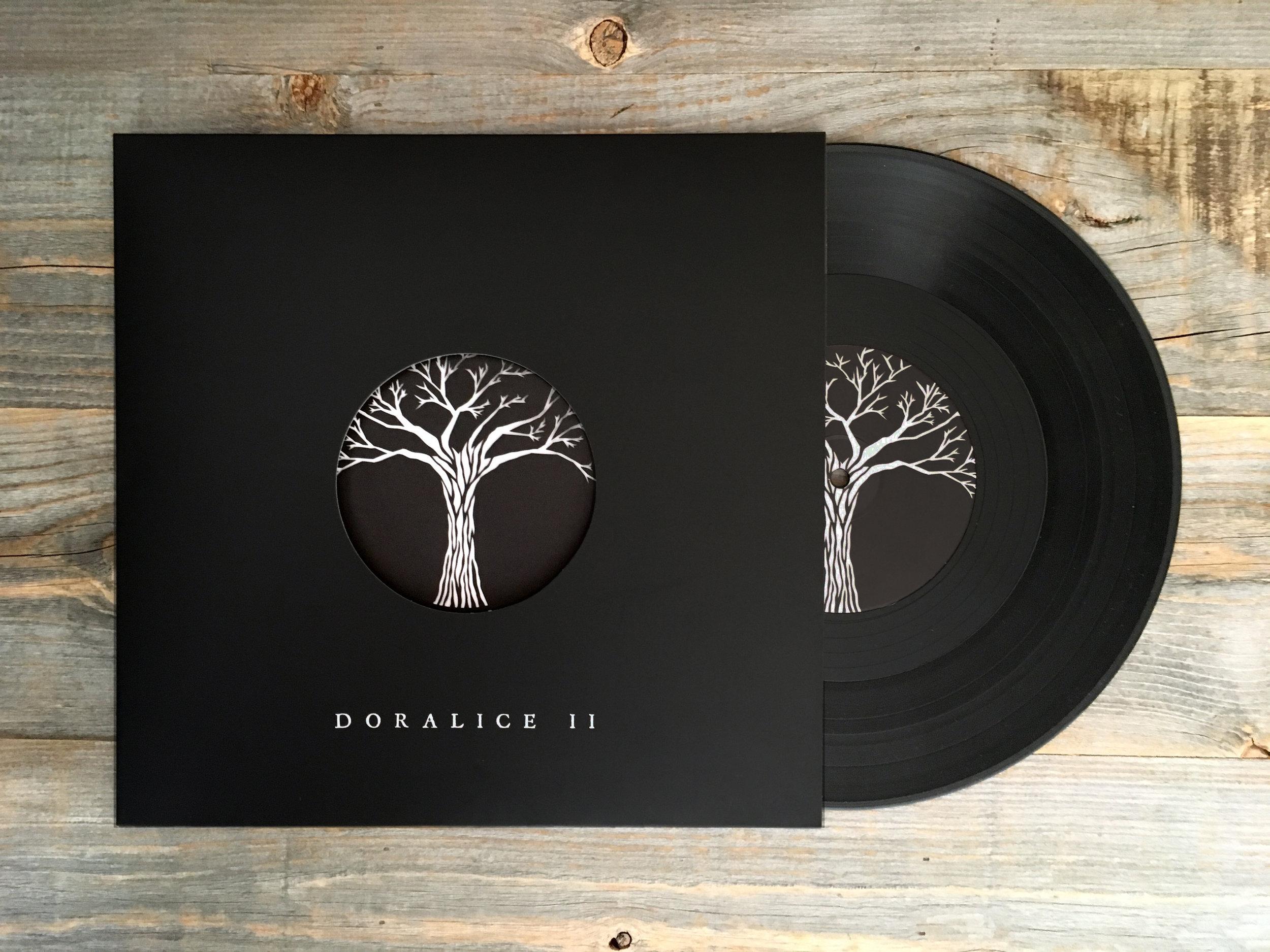 Doralice LP with lasercut insert and album art