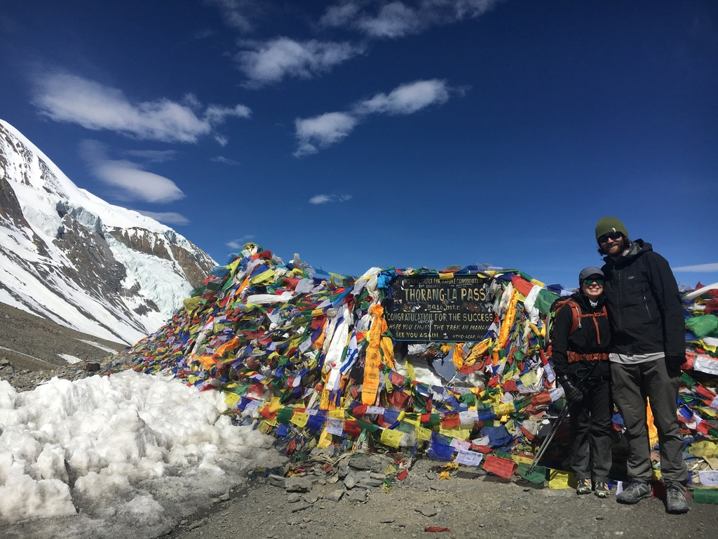 Thorong La Pass at 17,769ft