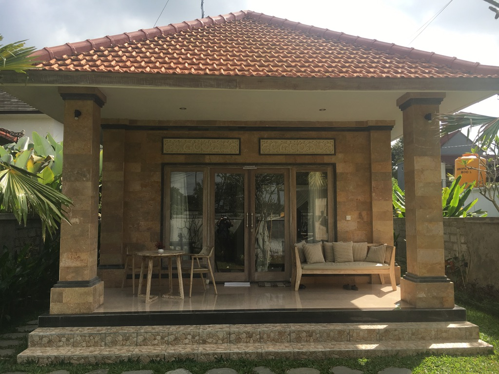 Our little home for a month in Ubud, Bali