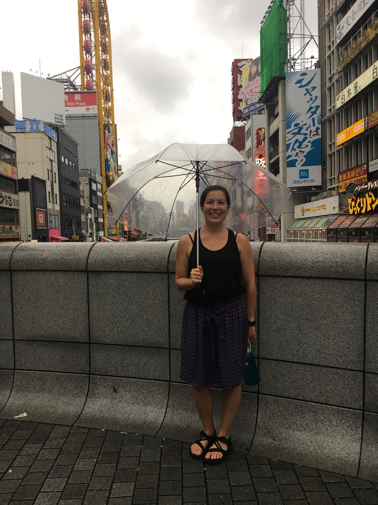 Dotonbori area of Osaka