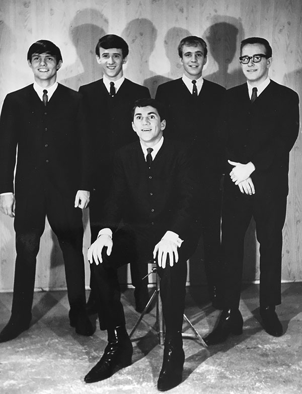 TOP ROW:  Bill Hill, Doug West, Lou Atkins, Andy Kaye  BOTTOM ROW:  Al Nicholls