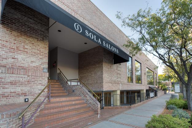 Urban Renewal is located inside of Sola Salons Studio. -