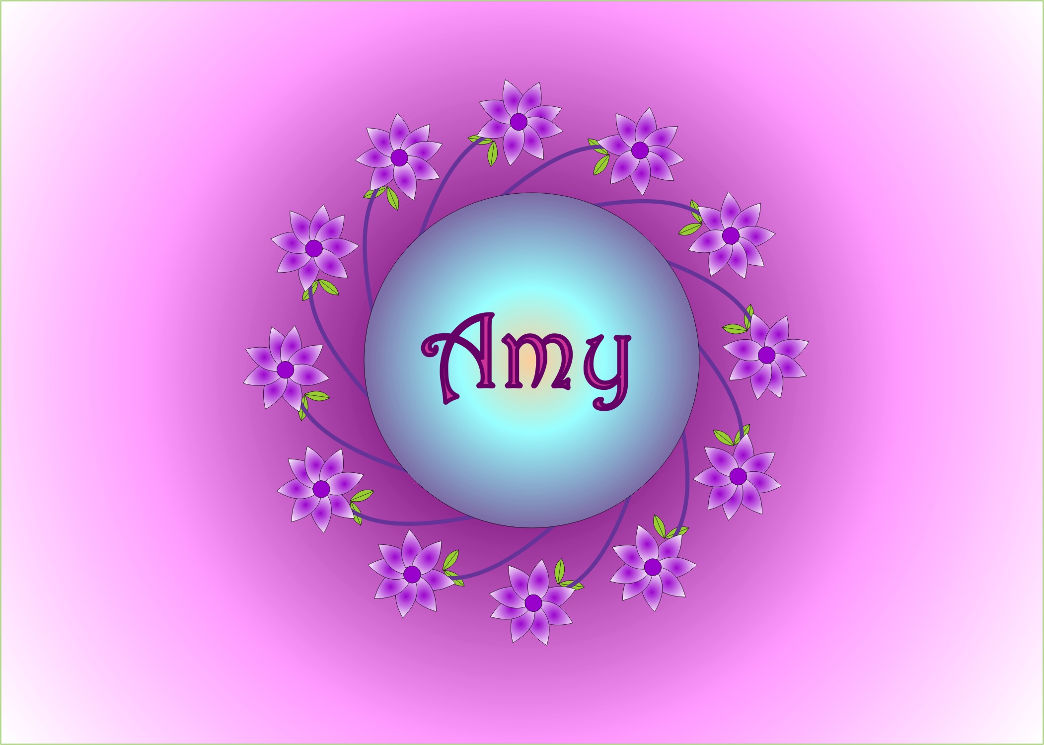 Floral Circle - I