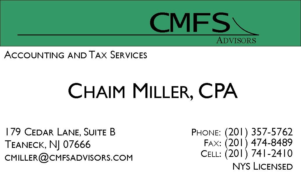 Chaim Miller - Accountent