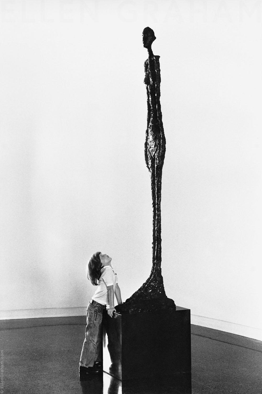 Alexis Graham, Alberto Giacometti-Grande femme II, Pasadena, CA, 1977