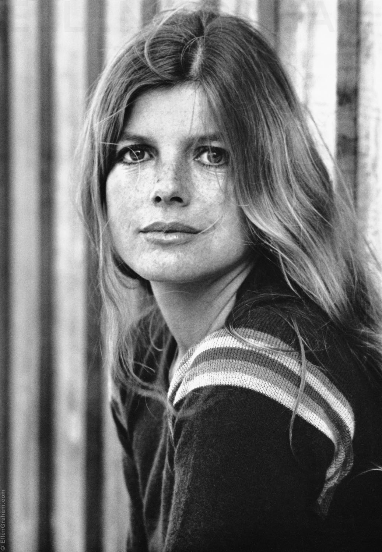 Katherine Ross, Trancas Beach, CA, 1975