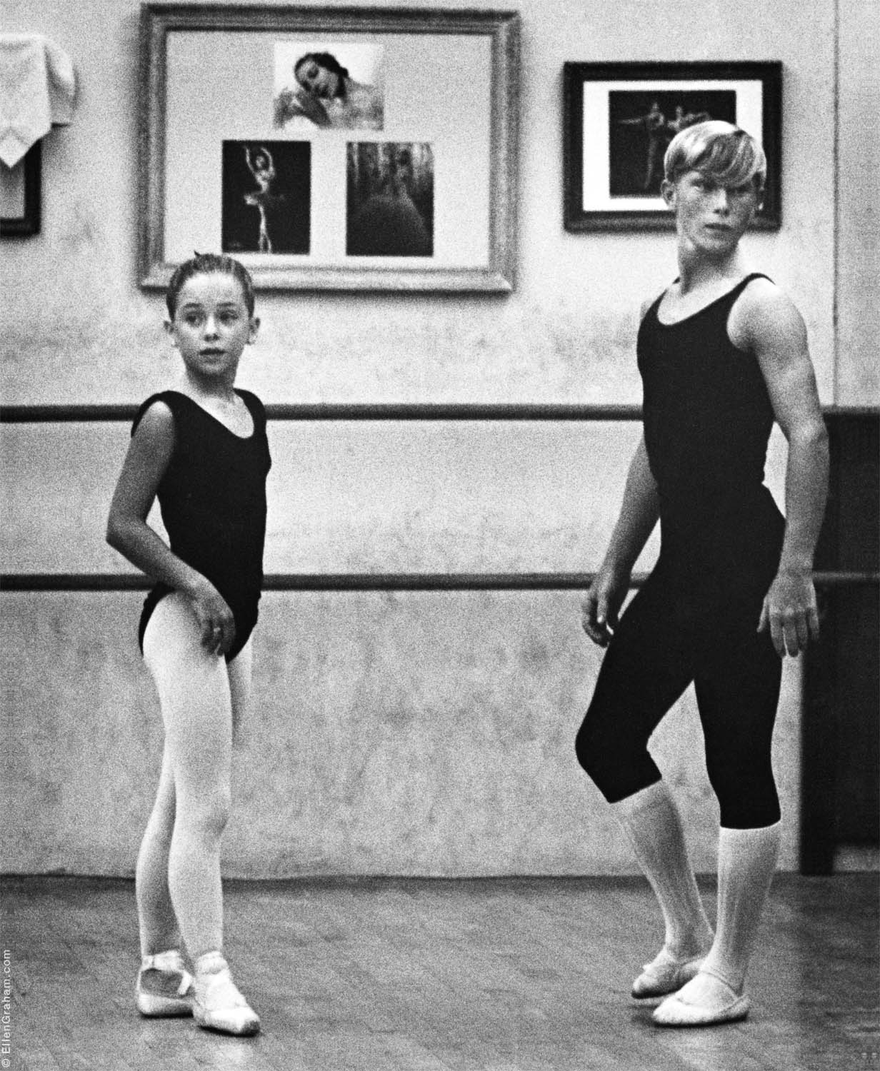 Dance Students, George Zoritch Dance School, West Hollywood, CA, 1966
