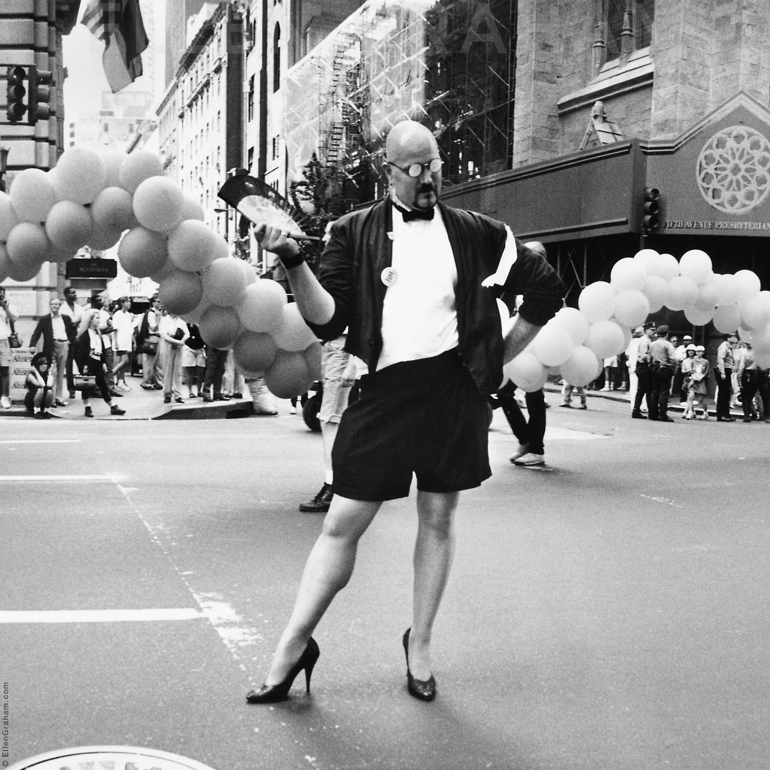 Gay Parade, 5th Avenue, New York, NY, 1990
